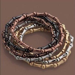 LIa Sophia multiplicity stretch bracelet NEW
